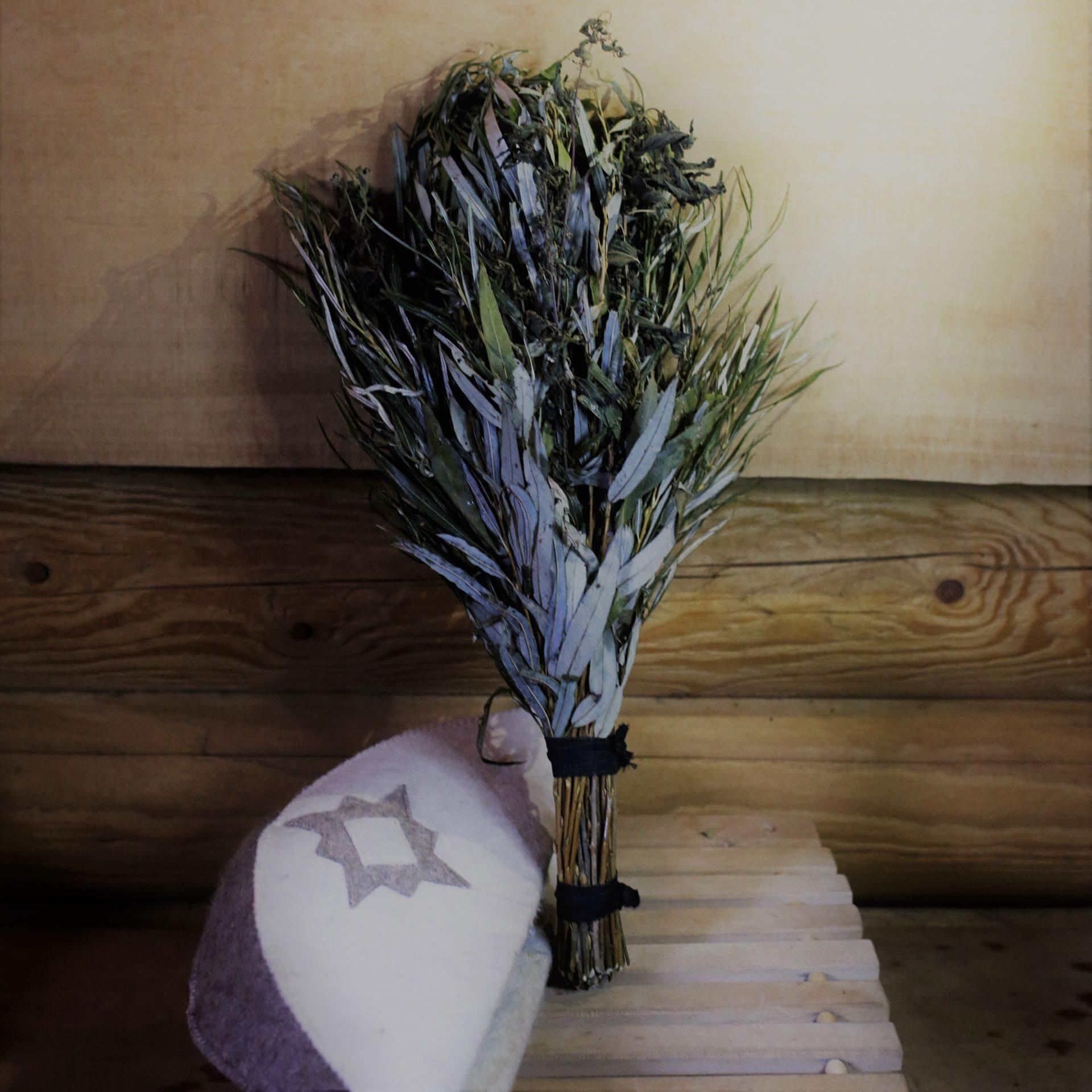 Веник из крапивы для бани - заготовка, сушка, применение! 98